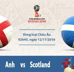 Scotland vs Anh